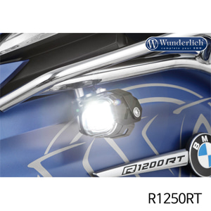 분덜리히 R1250RT LED additional headlight Micro Flooter for tank bars black