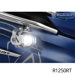 분덜리히 R1250RT LED additional headlight Micro Flooter for tank bars silver