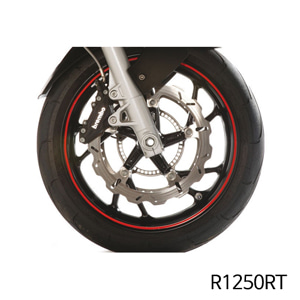 분덜리히 R1250RT Wheel rim stickers red