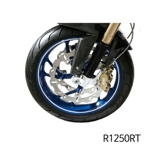분덜리히 R1250RT Wheel rim stickers white