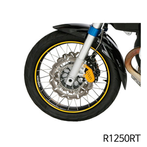 분덜리히 R1250RT Wheel rim stickers yellow