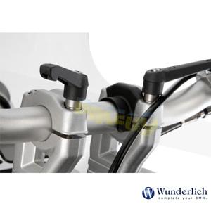 분덜리히 BMW 모토라드 퀵 릴리즈 클램프 볼트 without 핸들바 라이저- onli without 핸들바 라이저 - 블랙 25870-000