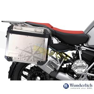 분덜리히 BMW 모토라드 R 1250 GS/어드벤처 Decorative 키트 for Compass 클리어 오리지널 알류미늄 케이스 48700-001