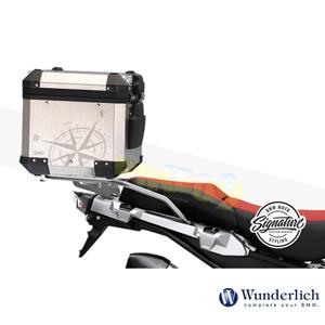 분덜리히 BMW 모토라드 R 1250 GS/어드벤처 Decorative 키트 for Compass 클리어 오리지널 알류미늄 탑 케이스 48700-003