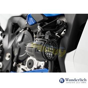 분덜리히 BMW 모토라드 R 1250 GS/어드벤처 LED Auxiliary 라이트 프로텍션 그릴 >NANO< - 블랙 42831-002