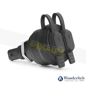 분덜리히 BMW 모토라드 R 1250 GS/어드벤처 USB 듀얼 소켓 - 블랙 45011-000