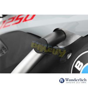 분덜리히 BMW 모토라드 R 1250 GS/어드벤처 탱크 프로텍션 바 커버 캡 ? 어드벤쳐 - 세트 - 블랙 42742-312