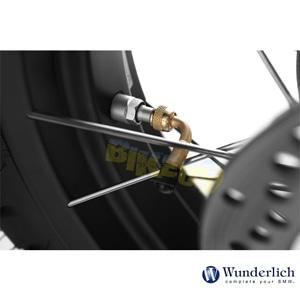 분덜리히 BMW 모토라드 R 1250 GS/어드벤처 90° 밸브 스템 어댑터 20010-000