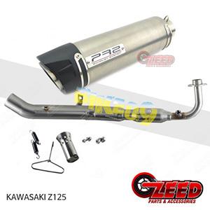 제드 튜닝파츠 가와사키 KAWASAKI Z125 PR2 풀시스템 머플러 로우 마운트 티탄